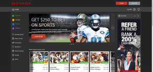 Bovada Wagering Site